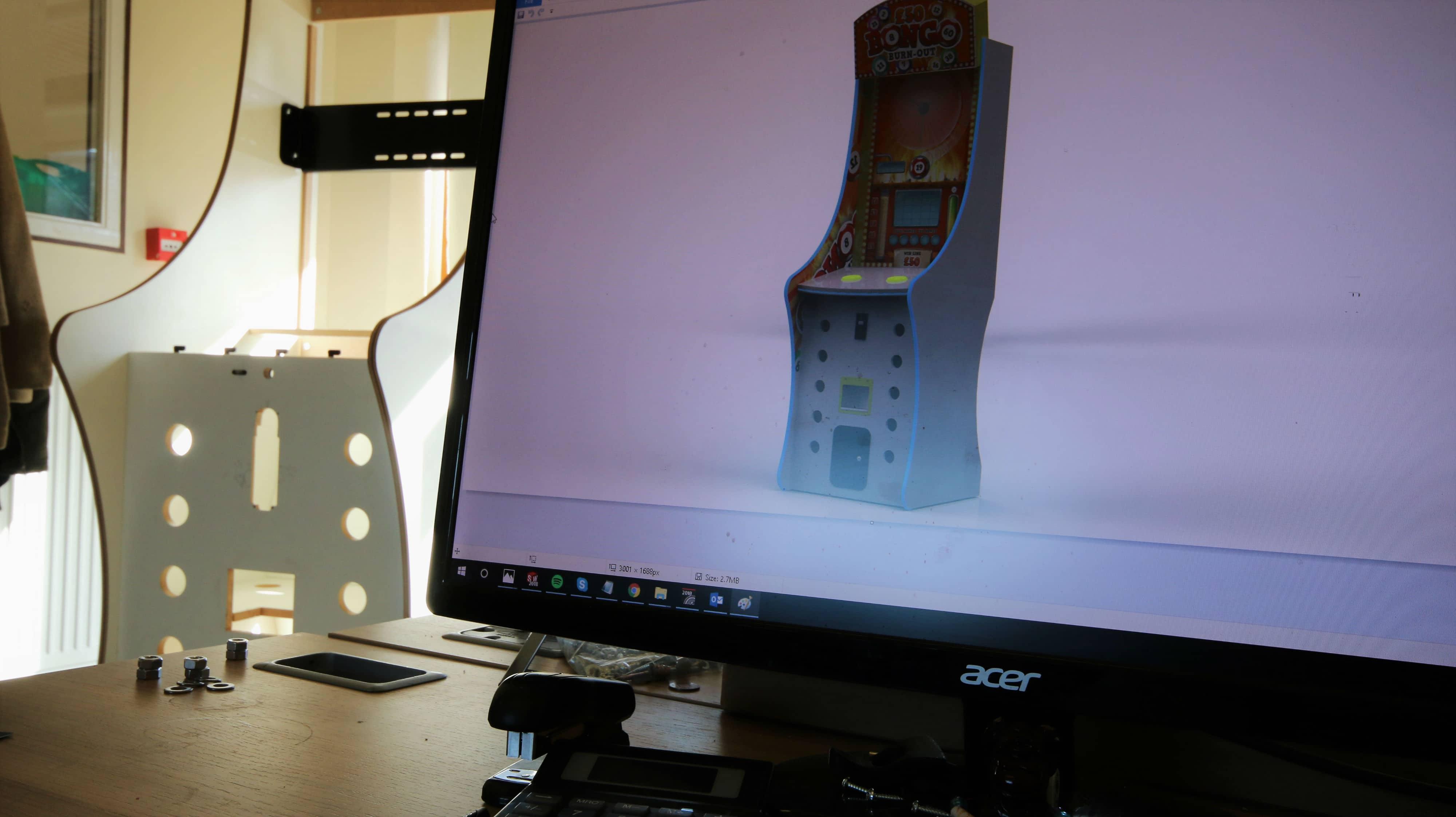 Arcade Machine Prototyping